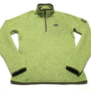 Patagonia • rare green pullover jacket